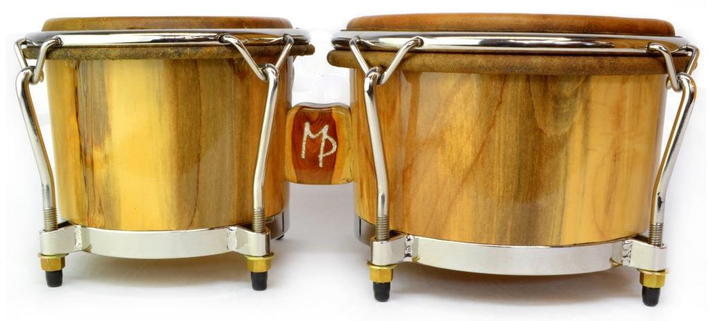 Magnolia wood bongos with guayacan bridge