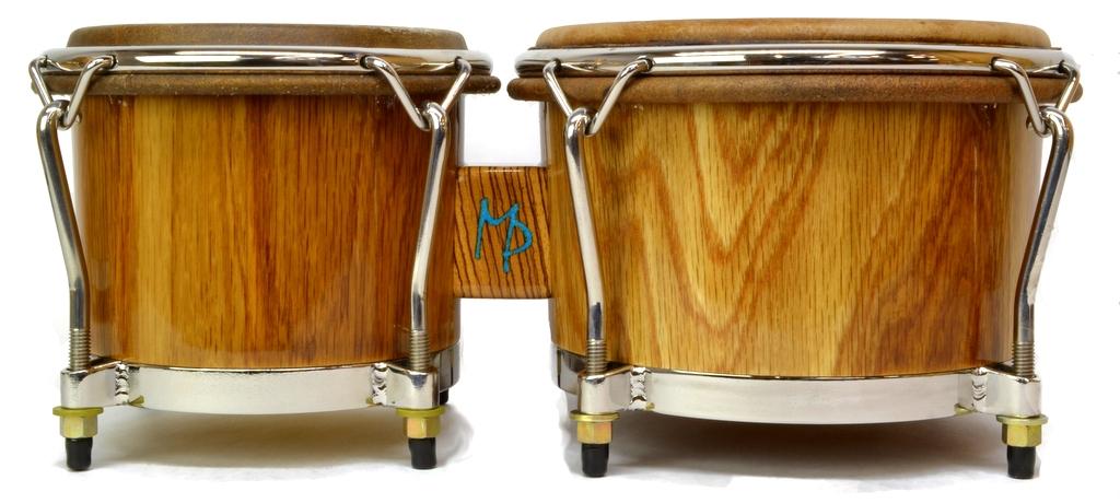 White Oak wood bongos